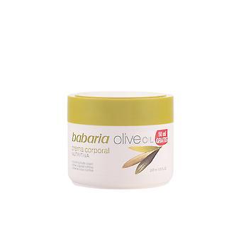 Babaria Aceite de Oliva Crema Nutriitiva desátník 250 ml pro ženy