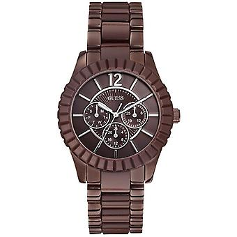 Guess Ladies Watch  Brown W0028L2