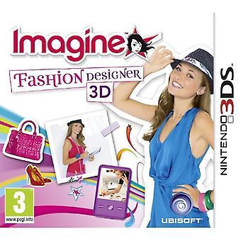 Imagine Designer de Moda (Nintendo 3DS) - Novo