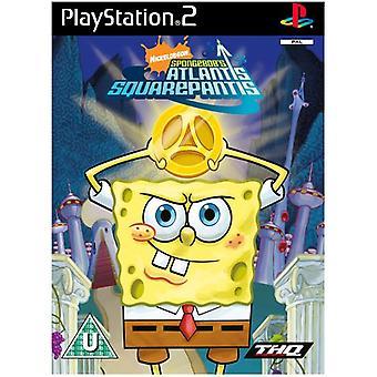 Spongebob Atlantis Squarepantis (PS2) - New Factory Sealed