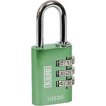 K10530GRED الصناعية قفل تركيبة 30 ملم الخضراء