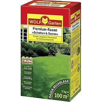 Sombra de semillas de césped y sol LP 100 Wolf Garten 3820040