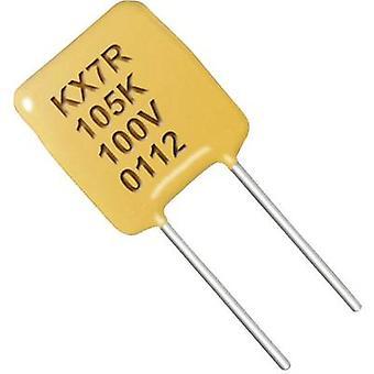 Kemet T350B225K025AT Condensador de tantalio Cable radial 2,54 mm 2,2 sF 25 V CC 10 % 1 ud(s)