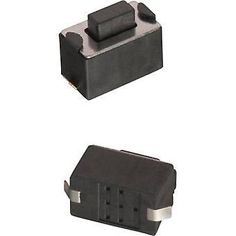 Würth Elektronik WS-TSW 434123050816 Pushbutton 12 V DC 0.05 A 1 x Off/(On) momentary 1 pc(s)