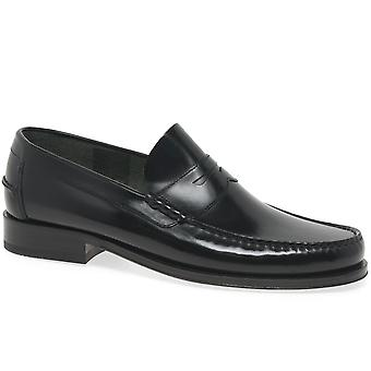 Loake Princeton Leather Moccasin Shoes