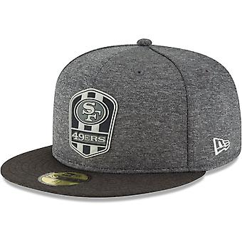 New Era 59Fifty Cap - Black Sideline San Francisco 49ers