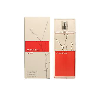 Armand Basi In Red Edt Spray 100 Ml For Women