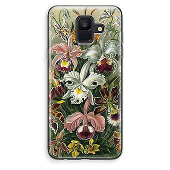 Samsung Galaxy A6 (2018) transparentes Gehäuse (Soft) - Haeckel Orchidae