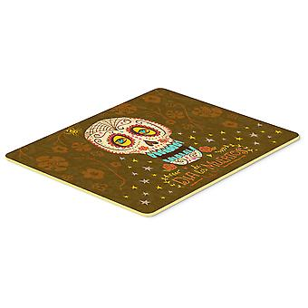 Carolines Treasures  VHA3031CMT Day of the Dead Kitchen or Bath Mat 20x30