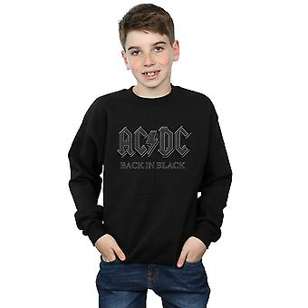 AC/DC Boys Back In Black Sweatshirt