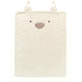 East Coast Silvercloud Teddy Bear Travel Blanket
