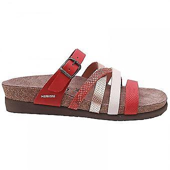 Mephisto Slip On Sandal With Adjustable Strape