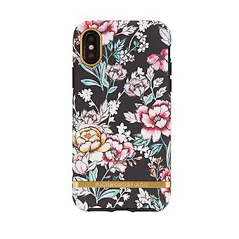 Richmond & Finch shells voor IPhone X/XS-Black Floral
