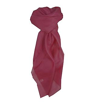 Mulberry Silk Hand Dyed Square Scarf Damask from Pashmina & Silk