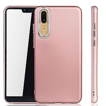 Huawei P20 - Mobile Shell dla Huawei P20 - mobilne przypadków w rose różowy