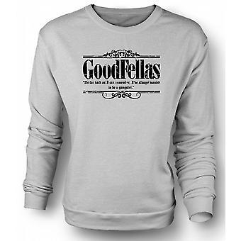 Kinder Sweatshirt wollte immer Gangster
