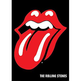The Rolling Stones Logo Poster