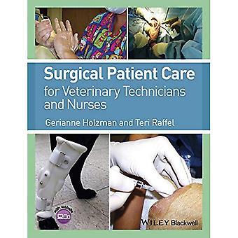 Chirurgische patiëntenzorg voor veterinair technici en verpleegkundigen