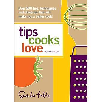 Conseils amour cuisiniers: plus de 500 conseils, les Techniques et les raccourcis qui vous fera un meilleur cuisinier!