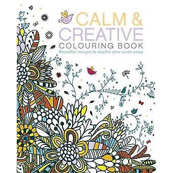 I lugn och kreativ målarbok (målarböcker)