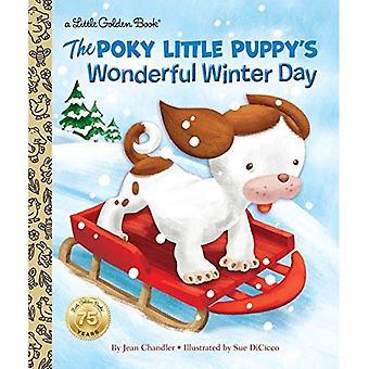 De Poky Little Puppy's prachtige winterse dag (gouden boekje)