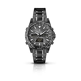 Accurist Quartz Analog-to-digital Man with stainless steel strap 7102.01