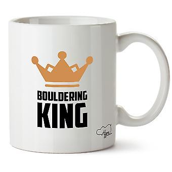 Король Hippowarehouse Bouldering напечатаны Кубка керамическая кружка 10oz