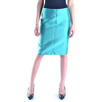 Armani Collezioni Light Blue Cotton Skirt
