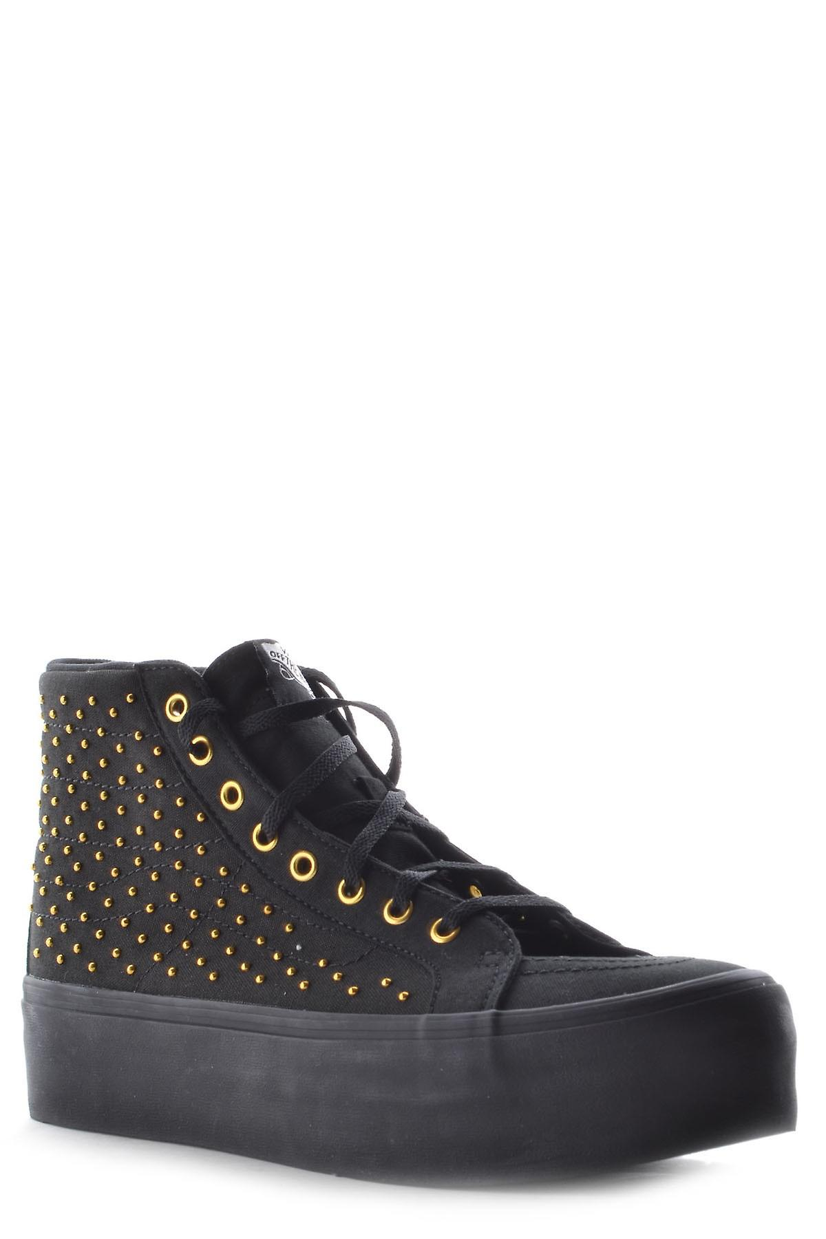 Vans Ezbc071002 Women's Black Fabric Hi Top Sneakers