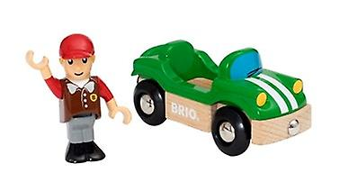 BRIO Sports Car 33937 Extra Vehicle for Wooden Railway Set