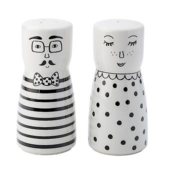 English Tableware Co. Looking Good Salt & Pepper Shakers