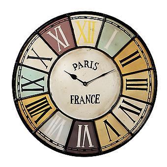 Reloj Chalet estilo Industrial Metal