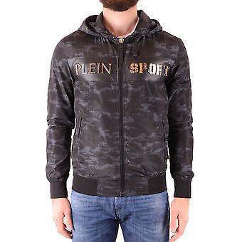 Philipp Plein Ezbc018046 Men's Black Polyester Sweatshirt