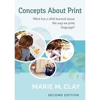 Concepts about Print - What Has a Child Learned about the Way We Print