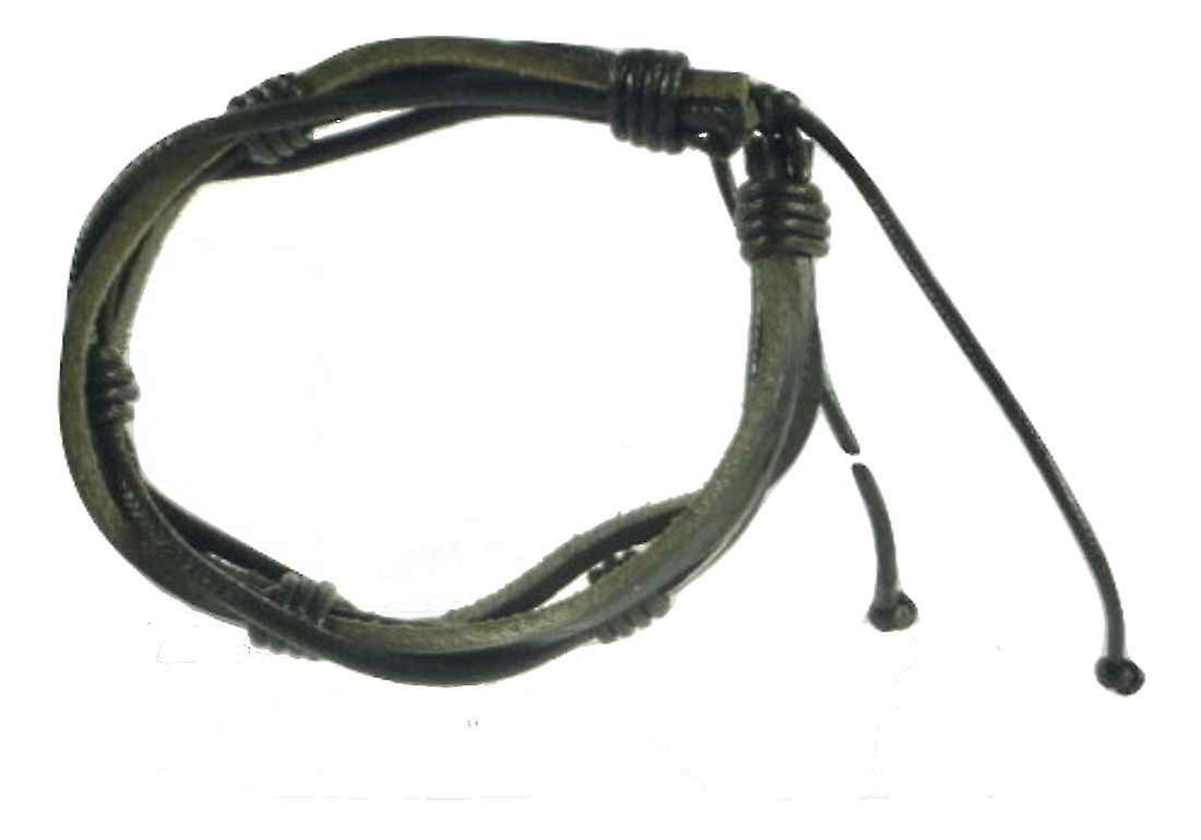 Bracelet 100% Leather  Model 607 from TICKITIBOO by Pashmina & Silk