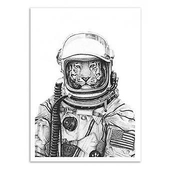 Art-Poster - Apollo 18 - Mike Koubou