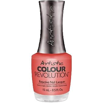 Artistic Colour Revolution Tribal Instinct 2016 Collection Reactive Nail Lacquer - Dance Round My Fire 15ml