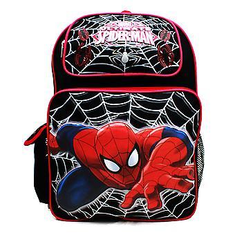 Hátizsák-Marvel-Spiderman web fekete új A05768