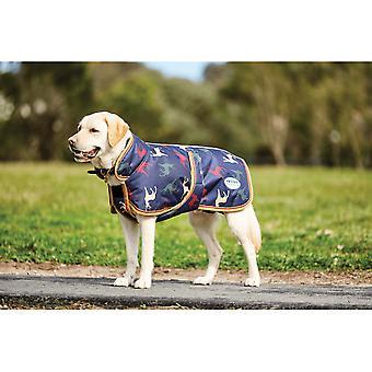 Weatherbeeta Parka 1200d Deluxe Dog Coat - Stag Print