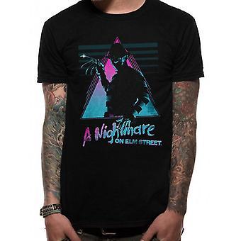 A Nightmare On Elm Street Adults Unisex Retro Design T-Shirt