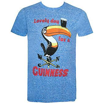 Guinness Blue Lovely Day For A Guinness Tee Shirt