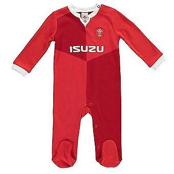 Wales RU Baby Sleepsuit
