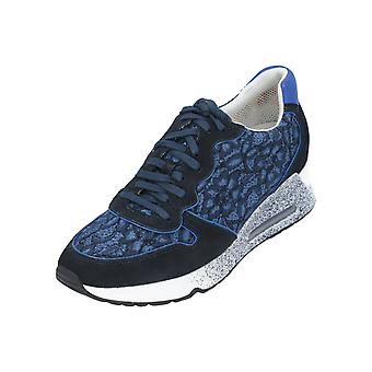 Ash Love Lace Women's Sneaker Turn Shoes Sport Leather Leisure Blue NEW OVP