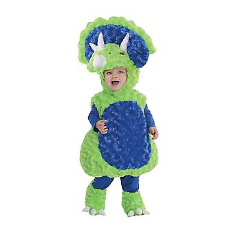 Green Triceratops Costume for toddlers