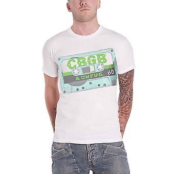 CBGB T Shirt Cassette Tape logo new Official Mens White sub dye