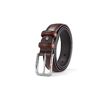 33mm Men's Classic Vintage Leather Belt