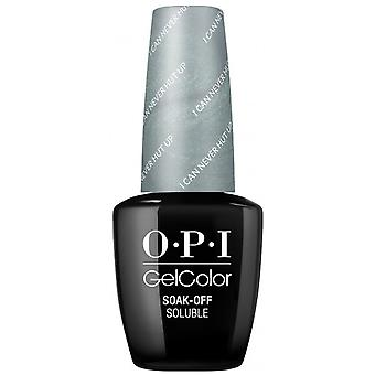 OPI GelColor Fiji 2017 Soak Off Gel Polish Collection - I Can Never Hut Up 15ml (GC F86)