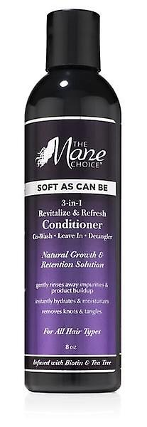 The Mane Choice Soft As Can Be Revitalize & Refresh 3-in-1 Co-Wash Detangler 8oz