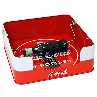 Dispensador de coca-servilleta con botella spin