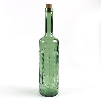 34cm / 0.7l Bottle With Cork Olive Toscana
